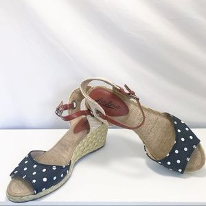 Lucky Brand Espadrille Wedges Size 8